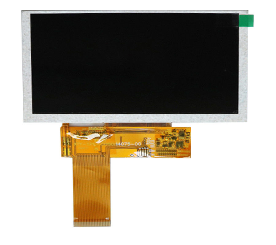 800*480 Resolution Car LCD Monitor With Hdmi Input 5 Inch Boe Lcd Display